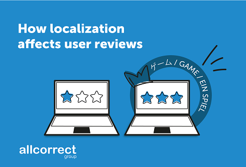 How Game Localization Affects User Reviews
